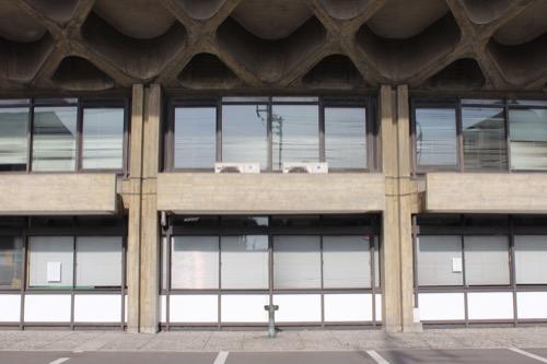 0131:香川県立体育館 東側外観①