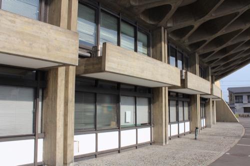 0131:香川県立体育館 東側外観②