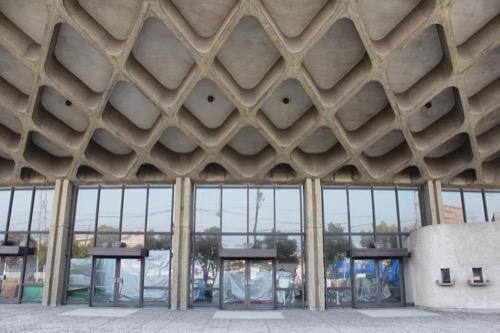 0131:香川県立体育館 西側入口②
