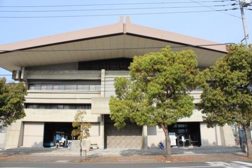 0132:香川県立武道館 東側外観