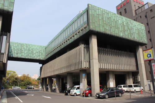 0134:百十四銀行本店 北側低層棟③