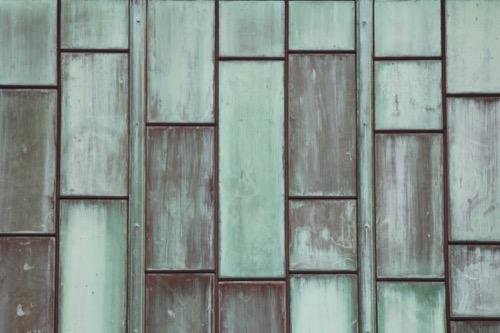0134:百十四銀行本店 青銅のファサード