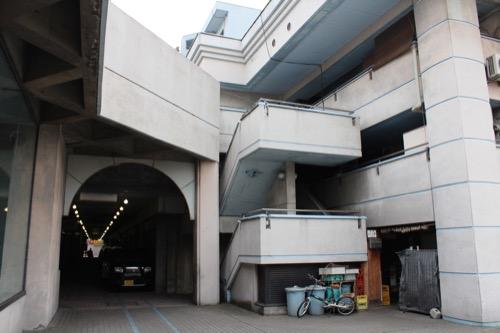 0135:坂出人工土地 商店街の北入口