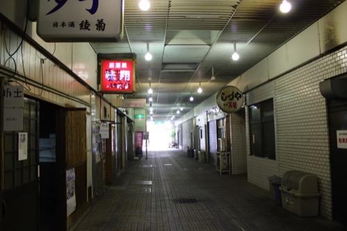 0135:坂出人工土地 商店街の内部