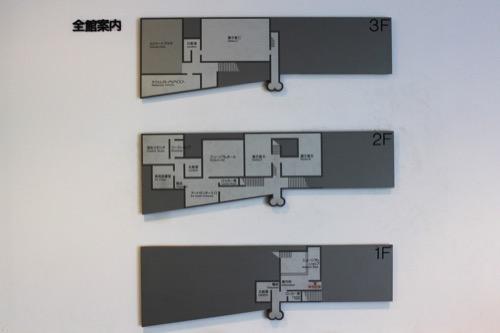 0137:丸亀市猪熊弦一郎現代美術館 案内図