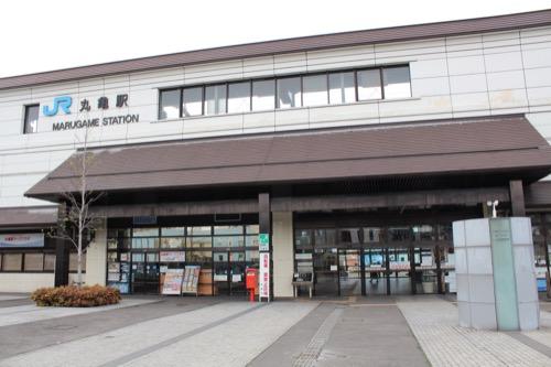 0137:丸亀市猪熊弦一郎現代美術館 JR丸亀駅