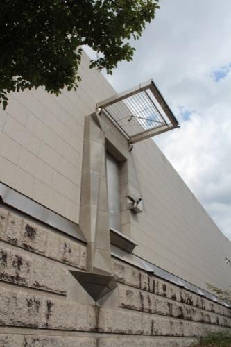 0139:岡山県立美術館 不思議な入口
