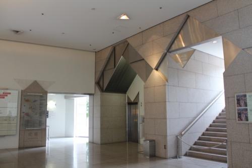 0139:岡山県立美術館 エントランス②
