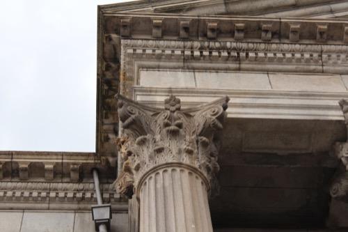 0143:ルネスホール コリント式の柱頭