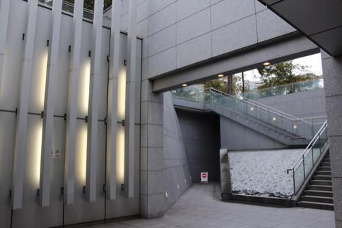 0144:国立広島原爆死没者追悼平和祈念館 サンクンガーデン