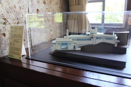 0152:ヨドコウ迎賓館 2階応接間に飾られた模型