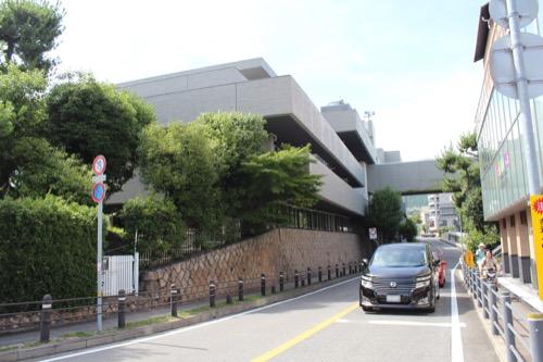 0153:芦屋市民センター 本館を北側から②