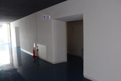 0153:芦屋市民センター 本館EV廊下③
