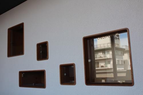 0153:芦屋市民センター 本館EV廊下④