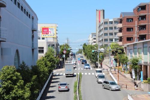 0156:松柏美術館 駅前からの道のり