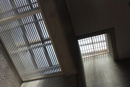 0157:岐阜県美術館 多目的ホールのトップライト①