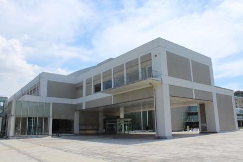 0158:岐阜県図書館 外観全景①