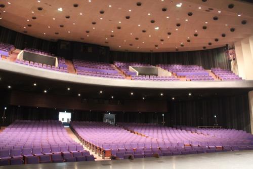 0159:岐阜市民会館 大ホール1階②