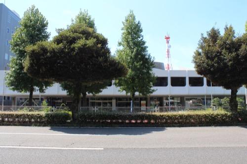 0159:岐阜市民会館 金華橋通りからの眺め③
