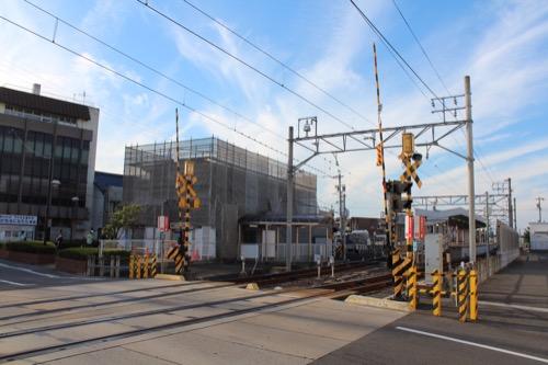 0161:羽島市庁舎 名鉄羽島市役所前駅