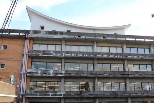 0161:羽島市庁舎 本庁舎北側ファサード