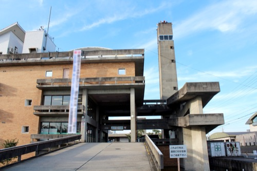 0161:羽島市庁舎 本庁舎南側外観②