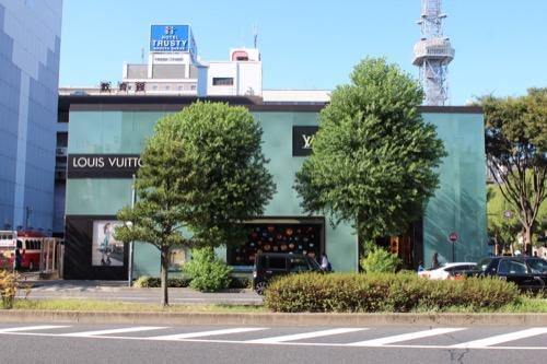 0165:ルイ・ヴィトン名古屋 正面(南側)ファサード