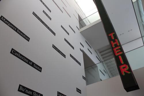 0167:豊田市美術館 下への階段から撮影