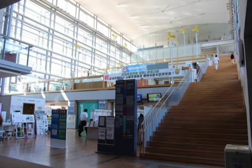 0169:掛川市庁舎 入口から①