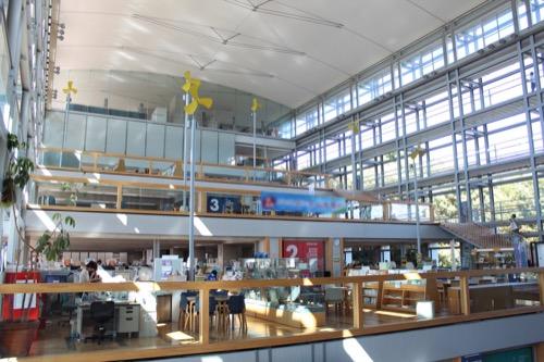 0169:掛川市庁舎 アトリウム全景①