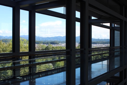 0169:掛川市庁舎 廊下の眺め①