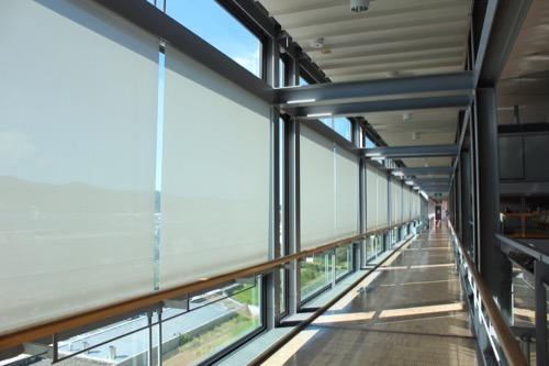 0169:掛川市庁舎 廊下の眺め③