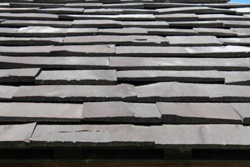 0171:秋野不矩美術館 美術館の屋根瓦