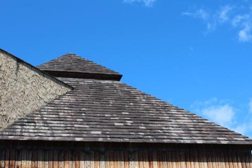 0171:秋野不矩美術館 奥のとんがり屋根