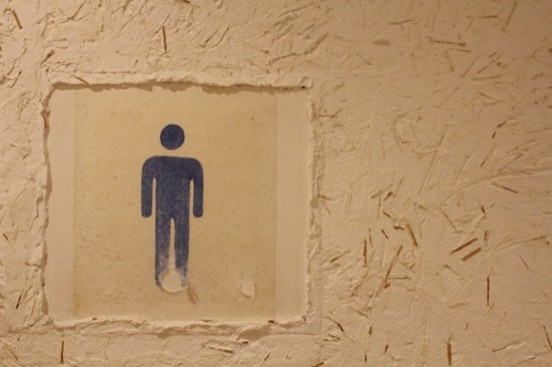 0171:秋野不矩美術館 トイレの版画