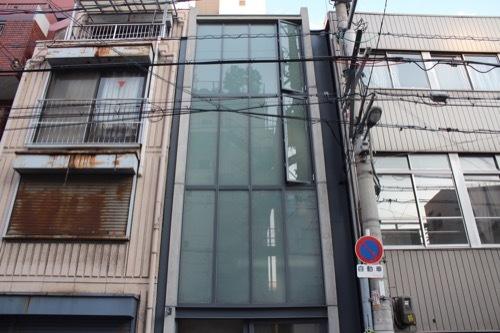 0172:日本橋の家 ファサード①
