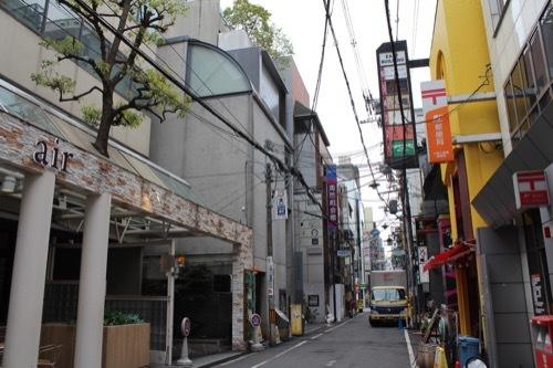 0177:ガレリアアッカ 東心斎橋の通りから②