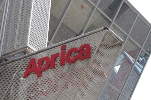 0179:アップリカ本社 社名看板