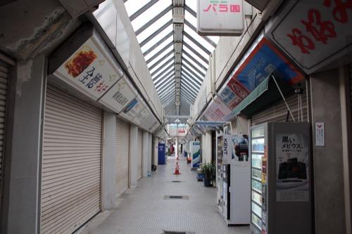 0148:市営基町高層アパート ショッピングセンターの内部