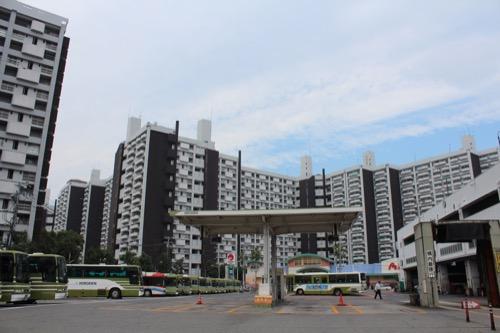 0148:市営基町高層アパート 全体俯瞰図