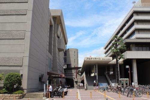 0149:西宮市民会館 東側入口
