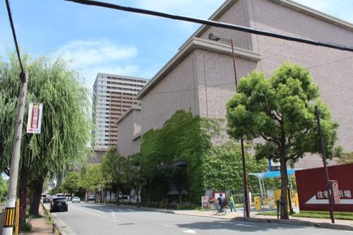 0150:兵庫県立芸術文化センター 西側外観①