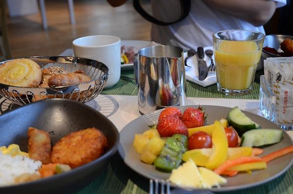 スイソテル朝食1