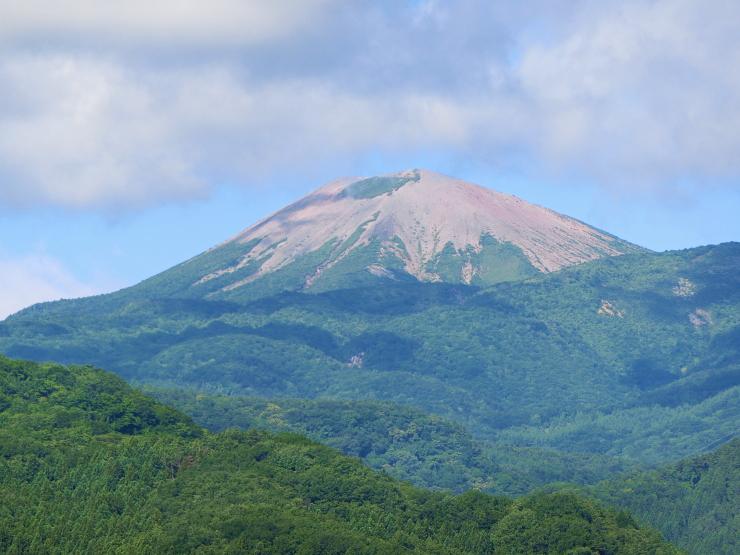 夏の小富士