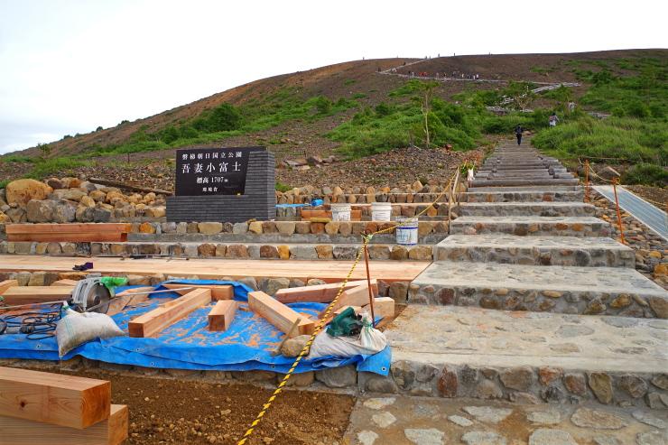 小富士階段
