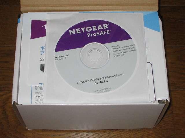 NETGEAR ネットギア アンマネージプラススイッチ ギガ 8ポート スイッチングハブ 管理機能付 無償永久保証 GS108E-300JPS パッケージ開封