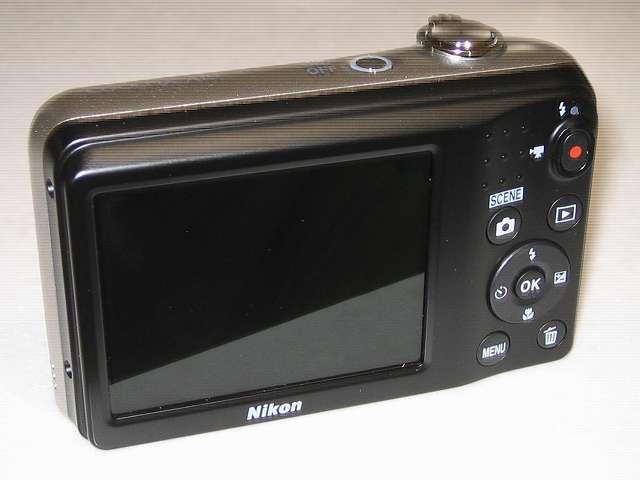 Nikon デジタルカメラ COOLPIX A10 シルバー カメラ本体裏面 液晶モニター側