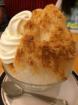コメダキャラメルミルク氷