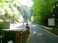 160416善峯寺下の観光バス駐車場