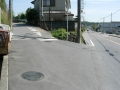 160416分岐を左に入り府道6号を離脱